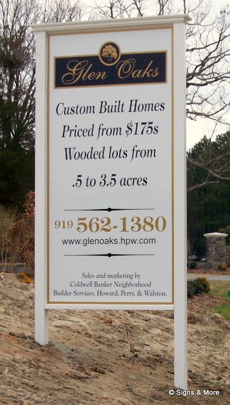 Post & Panel Signs- Real Estate Panel Advertising